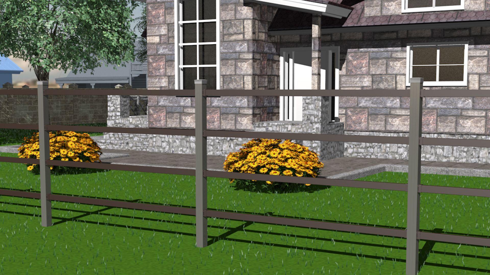 Обои двор, зонт, желтый. Разное foto 18