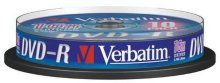 Диск DVD-R Verbatim 4.7Gb 16x Cake Box (10шт) (43523) Flex105371